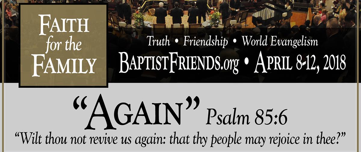 Unto the Furtherance of the Gospel